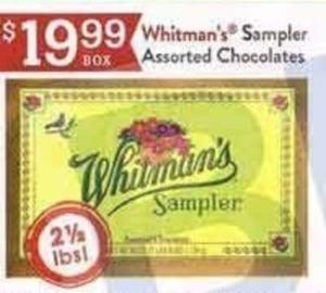 Whitman's Sampler Assorted Chocolates