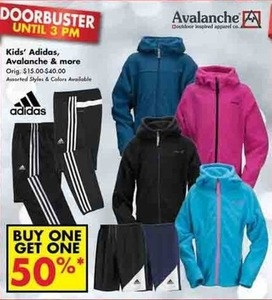 Adidas, Avalanche, & More for Kids