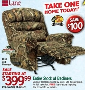 Entire Stock of Recliners