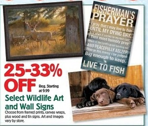 Wildlife Art and Wall Signs