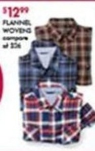Men's Flannel Woven Shirts