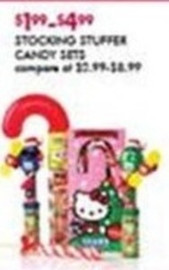 Stocking Stuffer Candy Sets