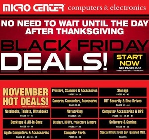 Micro Center Black Friday Ad