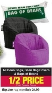 All Bean Bags, Covers & Bags of Beans
