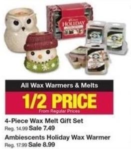 All Wax Warmers & Melts