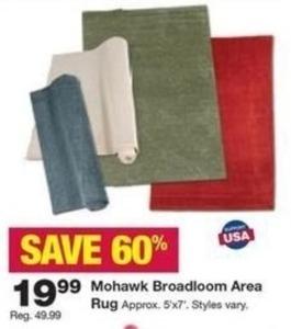 Mohawk Broadloom Area Rug