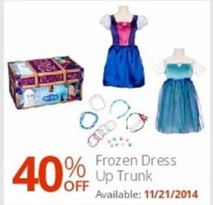 Frozen Dress Up Trunk (Starts 11/21)