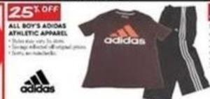 All Adidas Boys' Athletic Apparel
