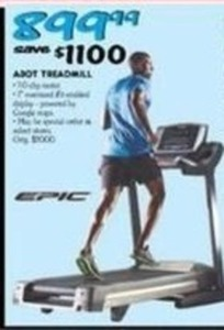 Epic A30T Treadmill