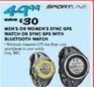 SportLine Sync GPS Watch