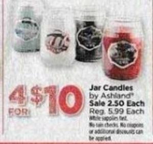 Jar Candles by Ashland