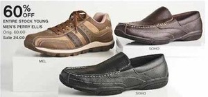 Entire Stock Young Men's Perry Ellis Shoes