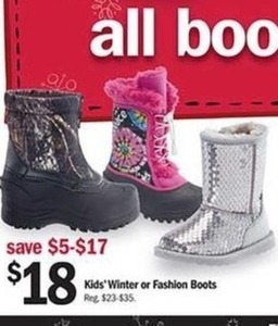 Kids' Winter or Fashion Boots