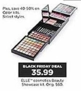 Elle Cosmetics Beauty Showcase Kit