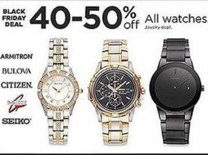 Watches from Armitron, Bulova, Citizen & More