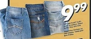 All Junior's SO and Mudd 5 Pocket Jeans