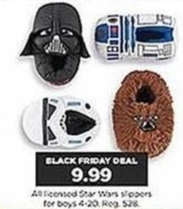 All Boys' Licensed Star Wars Slippers