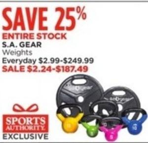 S.A. Gear Entire Stock