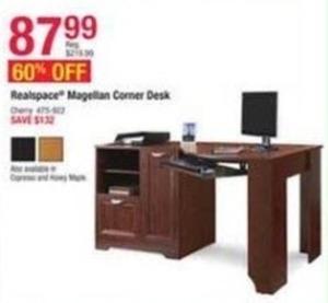 Realspace Magelian Corner Desk