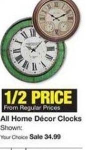 All Home Decor Clocks