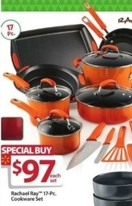Rachel Ray 17-Pc Cookware Set