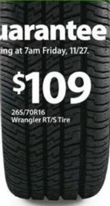 Goodyear Wrangler RT/S Tire