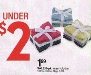 Washcloths 8-Pk