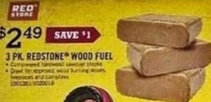 3-pk Redstone Wood Fuel