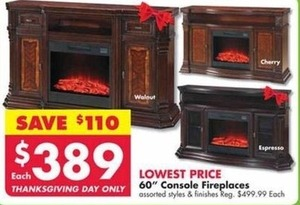 """60"""" Console Fireplaces"""