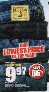 RedHead 5-Pocket Jeans