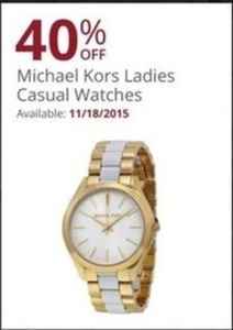 Michael Kors Women's Casual Watches