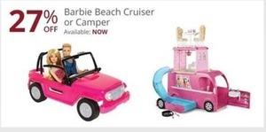 Barbie Beach Cruiser or Camper