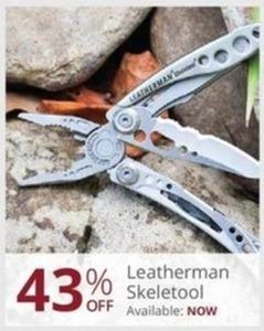 Leatherman Skeletool
