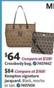 Michael Kors Kempton Signature Jacquard Handbag