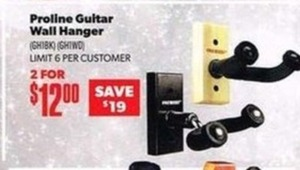 Proline Guitar Wall Hanger