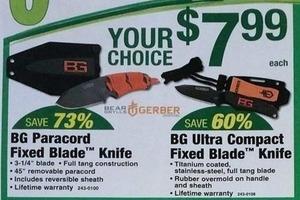 BG Ultra Compact Fixed Blade Knife