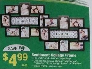 Sentiment Collage Frame
