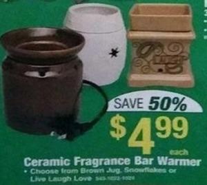 Ceramic Fragrance Bar Warmer