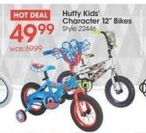 "Huffy Kids' Character 12"" Bikes"