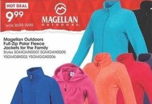 Magellan Outdoors Full-Zip Polar Fleece Jackets for the Family