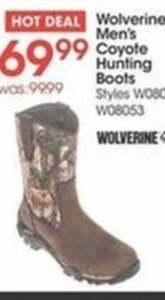 Wolverine Mens Coyote Hunting Boots