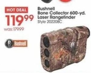 Bushnell Bone Collector 600-yard Laser Rangefinder