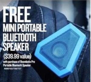 Mini Portable Bluetooth Speaker w/ Portable Bluetooth Speaker Purchase