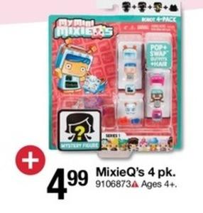 MixieQ's 4 pk.