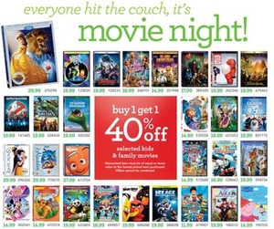 Selected Kid's and Family Movies