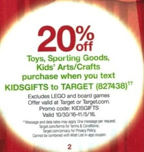 Toys, Sporting Goods & Kids' Arts/Crafts - Text KIDSGIFTS to 827438