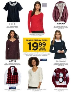ELLE, Jennifer Lopez, Apt. 9 & More Women's Sweaters