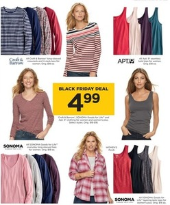 Select Sonoma, Apt. 9, and Croft & Barrow Women's Tops