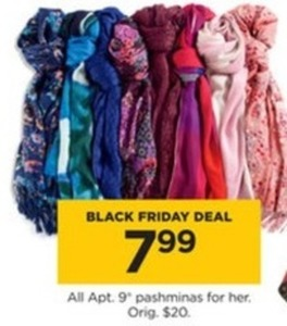All Apt 9 Pashminas for Her