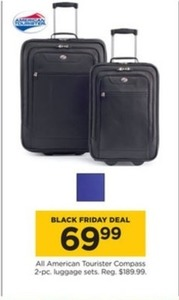 All American Tourister Compass 2-pc. Luggage Sets